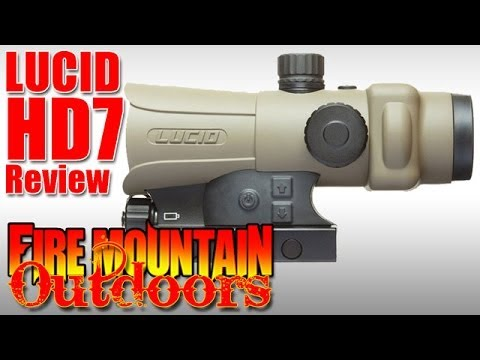 Tan Lucid-HD7 Gen III Holographic Red Dot Sight - Testing and Evaluation - Did we go too far?