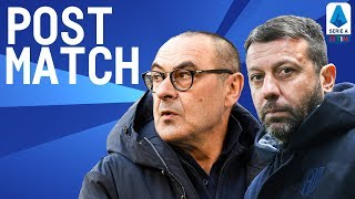 Juventus 2-1 Parma | Sarri & D'Aversa Post Match Press Conference | Serie A TIM