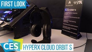 HyperX Cloud Orbit S: Gaming-Headset with Head-Tracking at #CES2019