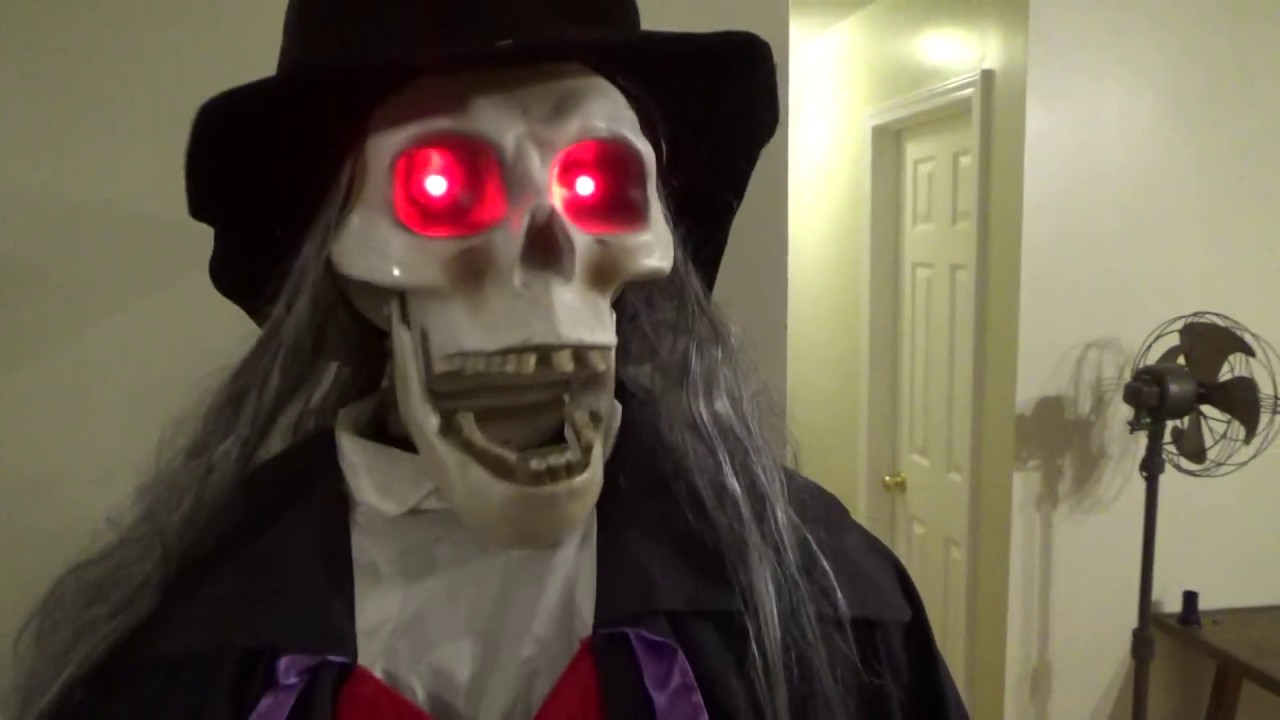 life size halloween skeleton butler