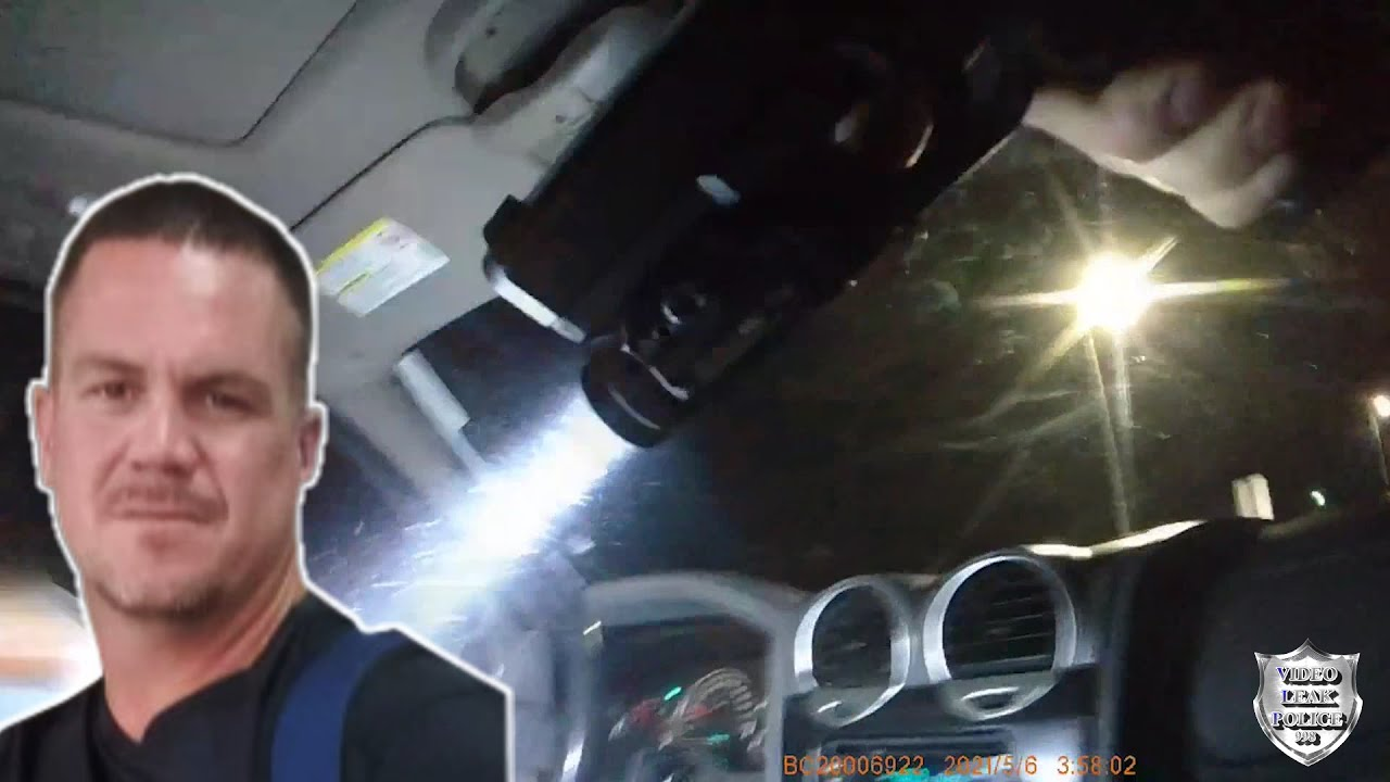 Body Cam: Officer Involved in Fatal Shooting Fleeing Man with Officer inside His Vehicle. May 6-2021