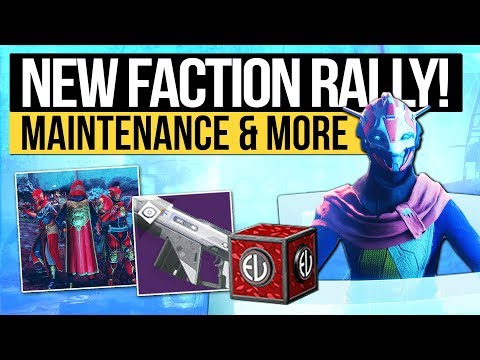 Destiny 2 News   JANUARY FACTION RALLY! - New Hotfix, Featured Weapons, Eververse & Update Thoughts!
