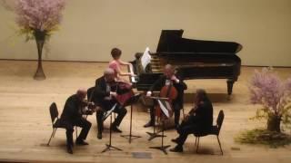 Arensky Piano Quintet in D Major 1,2 Movement - Kaori Kusakabe & Stamitz Quartet