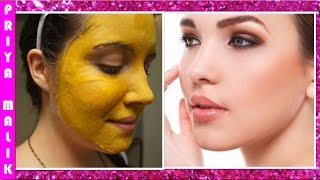 How To Remove Facial Hair Naturally at Home ~ With Demonstration