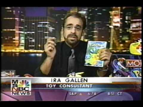 """Pokémania"": 1999 MSNBC Pokémon News Report"