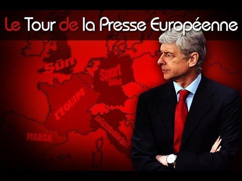 Wenger vers la prolongation, Cabaye au PSG... Le tour de la presse européenne !
