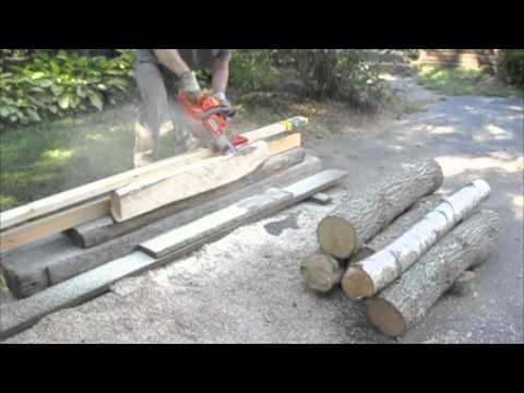 beam machine chainsaw attachment