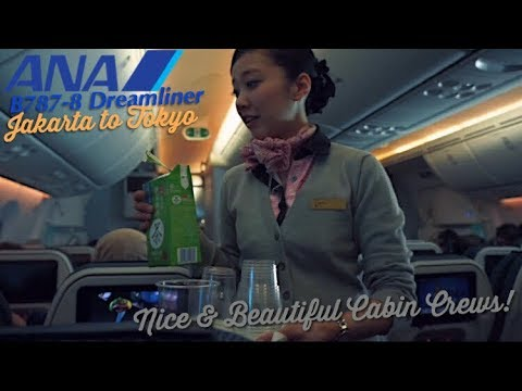 ANA 787 Dreamliner VLOG | Jakarta to Tokyo | Free Souvenirs & Surprise from the Cabin Crew :)