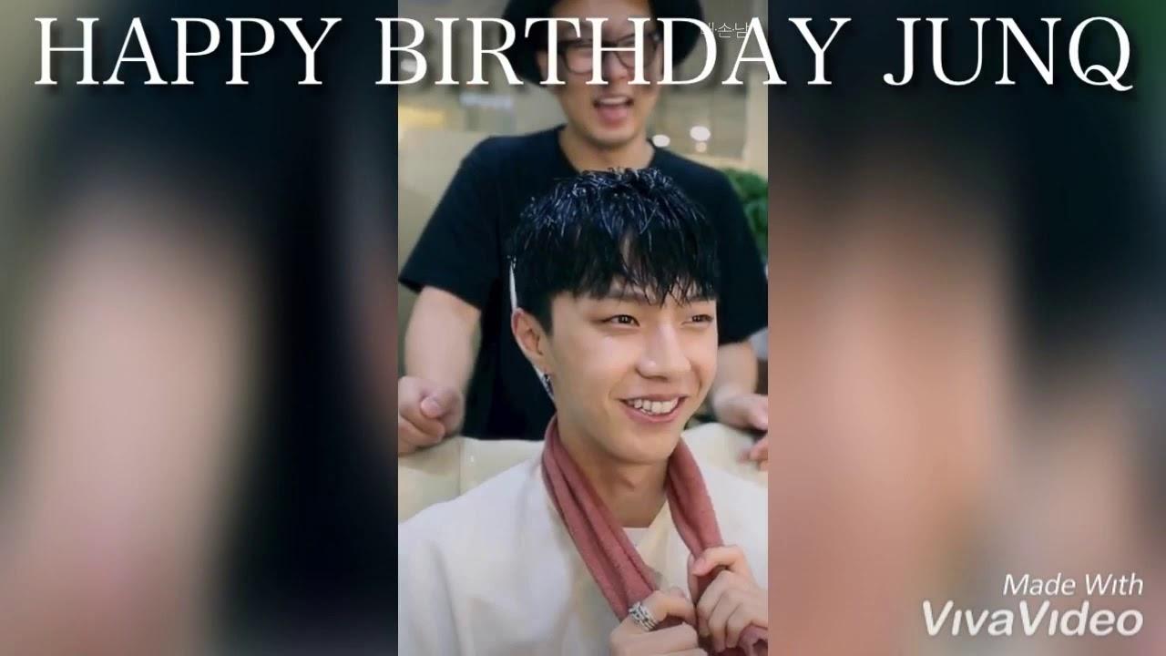 Myname Junq Happybirthday Kpop 誕生日おめでとう Youtube