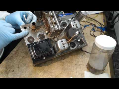 1936 SILVERTONE 4563 BC-SW Radio Part 2 of 4 1st Power-Up & Detail Work