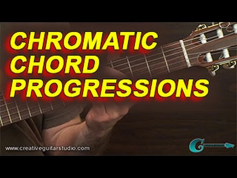 GUITAR THEORY: Chromatic Chord Progressions - YouTube