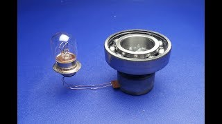 Free Energy 100% , Power Electric generator Science Experiments
