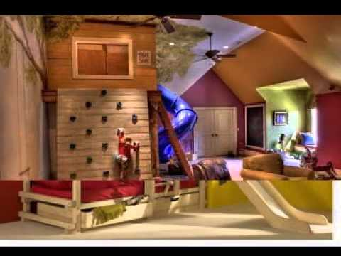 Game Room Design Ideas For Kids Youtube