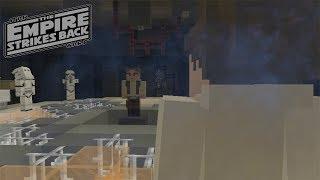 Minecraft StarWars: Han Gets Frozen In Carbonite Recreation