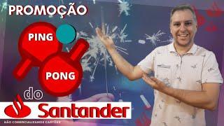 💳PROMOÇÃO: PING PONG SANTANDER, JOGUEI TODAS AS MINHAS FICHAS E GANHEI 50,00🤔