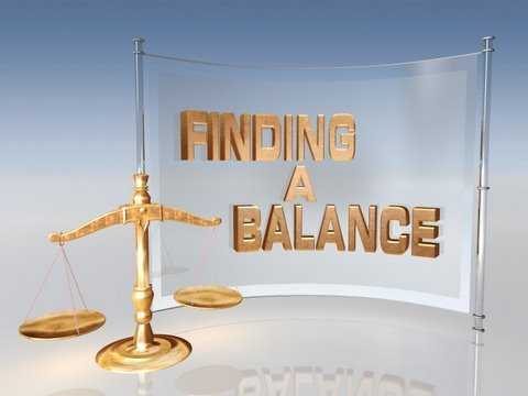 finding a balance youtube