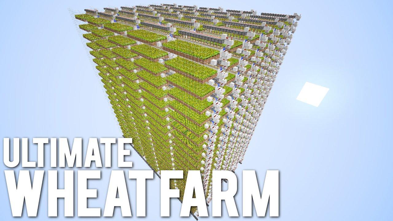 TOO SMALL MASSIVE Auto Wheat Farm YouTube
