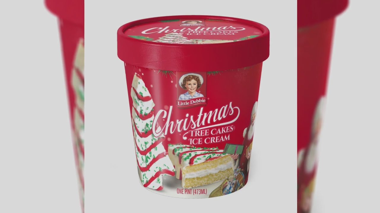 Here Come the Holidays! Little Debbie Christmas Tree Cakes Ice ...