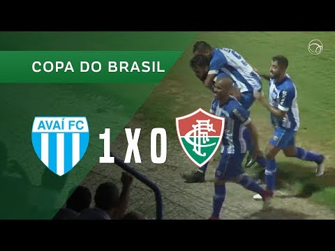 AVAÍ 1 X 0 FLUMINENSE - 15/03 - COPA DO BRASIL 2018