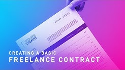 Creating A Basic Freelance Contract