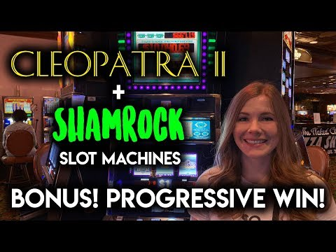 Slot machine progressive win