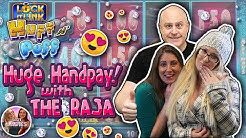 💵The RAJA Joins 🎰The SLOT LADIES For an Incredible 💨Huff N Puff 🐷HANDPAY!!!!