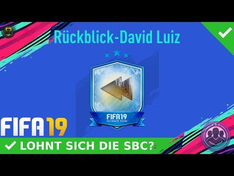 FLASHBACK SBC! RÜCKBLICK-DAVID LUIZ SBC! [LOHNT SICH DIE SBC?] | DEUTSCH | FIFA 19 ULTIMATE TEAM thumbnail