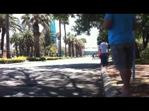 Redbull f1 Perth streets