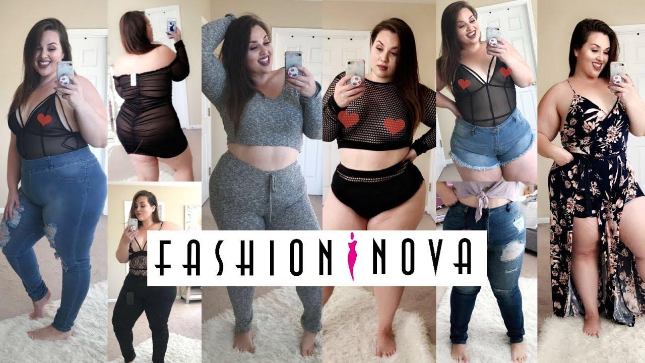 Huge Fashion Nova Curve Try On Haul Plus Size Fashion