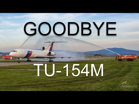 The last flight of TU-154M (OM-BYO) Teaser