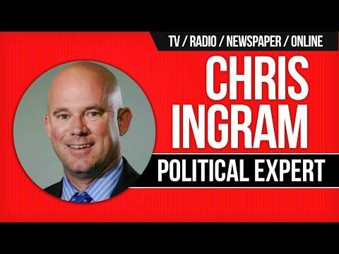 TV, Radio, Newspaper Political Pundit Chris Ingram's Journey from Politics to Media