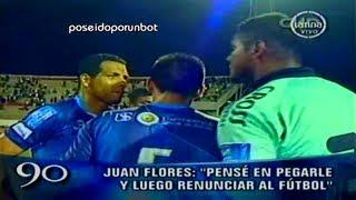 CHIQUITO FLORES: PENSE PEGARLE Y LUEGO RENUNCIAR AL FUTBOL. EL GOL MÁS RASTRERO 18/02/13