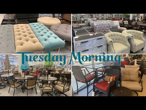 Tuesday Morning Furniture For Less | Outdoor Furniture Home Decor Sale | Shop With Me May 2019