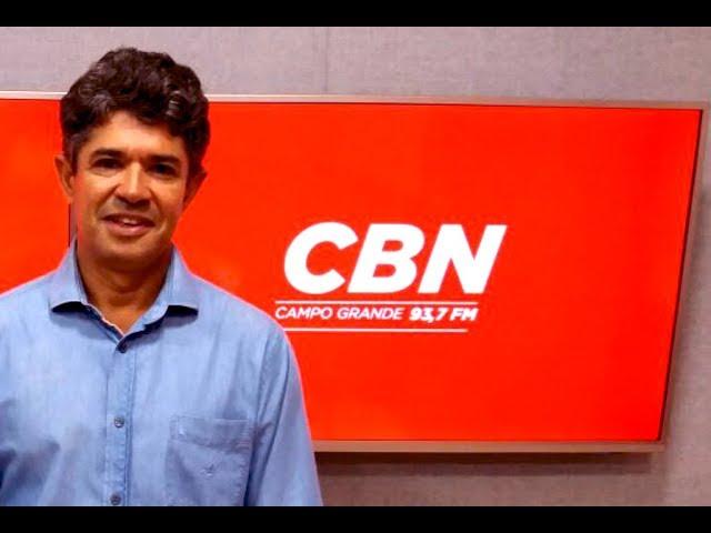 Entrevista CBN Campo Grande: Rinaldo Modesto, dep. Estadual
