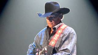 George Strait performing Living for the Night in  Lubbock Texas, 2011
