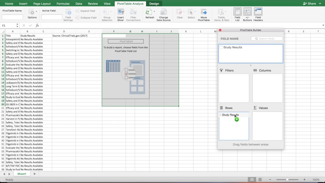how to make a frequency table in excel mac