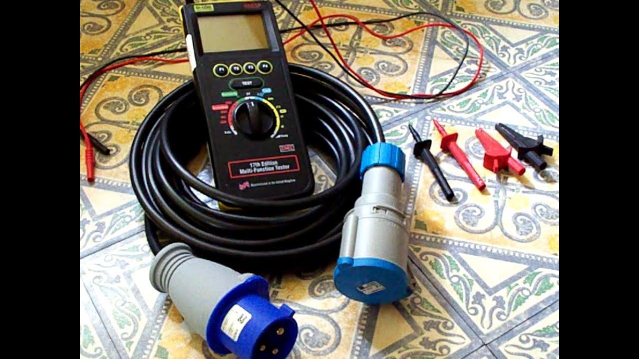 prise et Power Lead Set Test PAT Adaptateur Set 230 V 32amp fiche