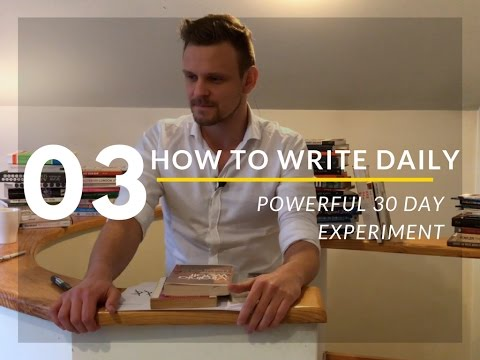 How to Love Books & Write Daily - 30 Days Experiment - Episode 3 *Lithuania*