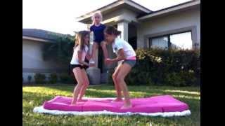 Basic Cheer Stunts Video