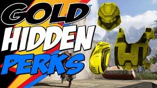 Apex Legends GOLD EQUIPMENT HIDDEN PERKS - WHY GOLD MATTERS