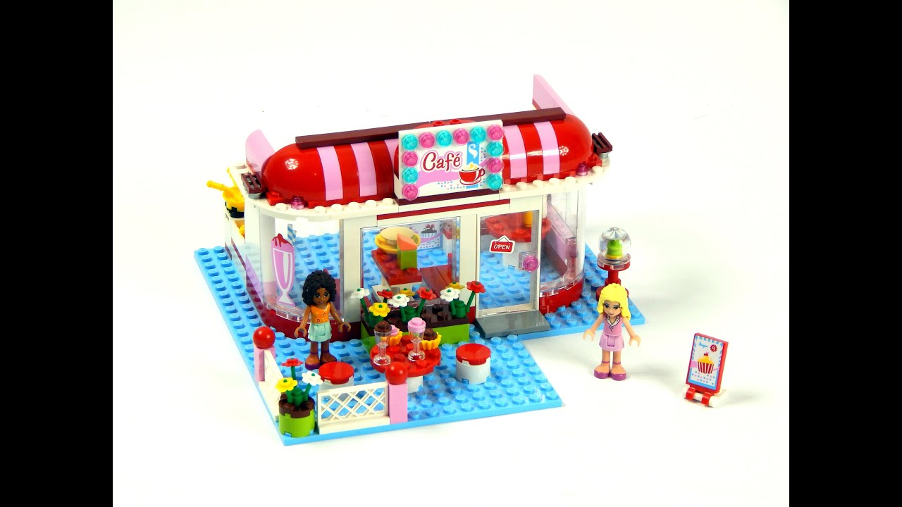 Lego Friends 3061 City Park Café Speed Build And Review ...