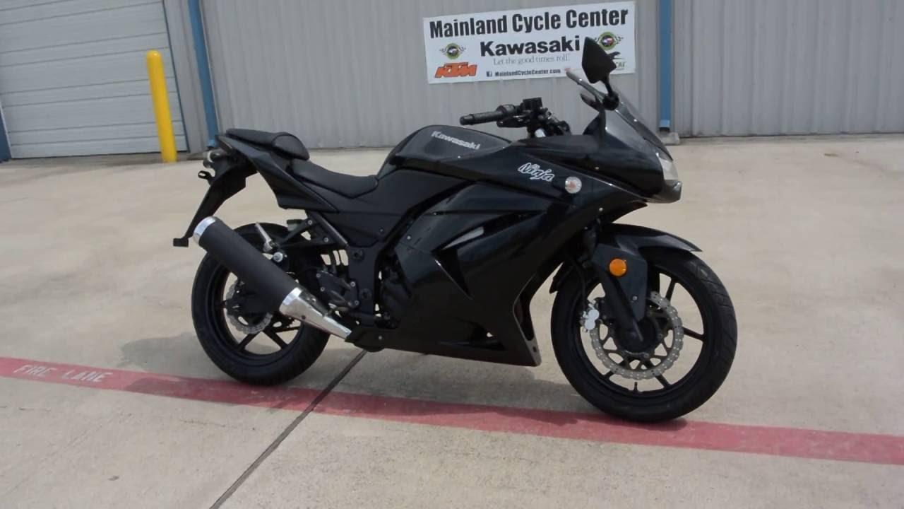 For Sale 2599 Pre Owned 2012 Kawasaki Ninja 250 Black Youtube