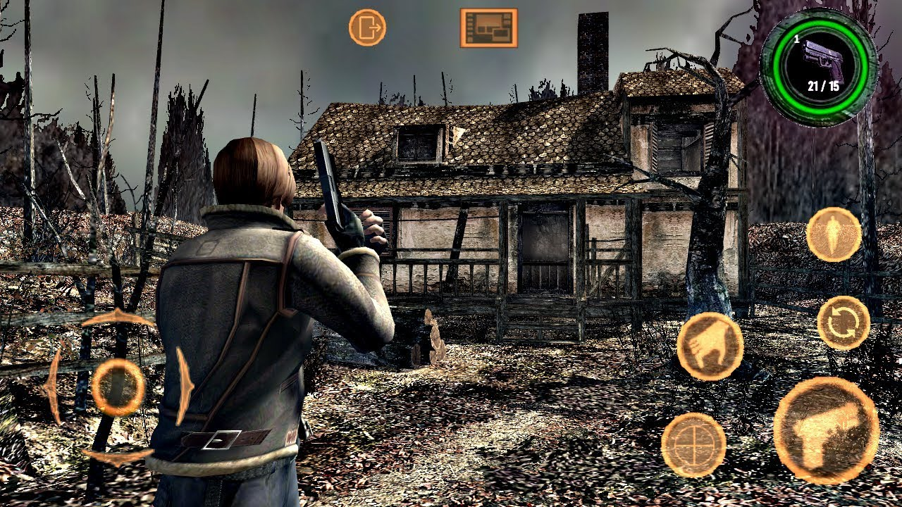 resident evil 4  android  modo historia gameplay con