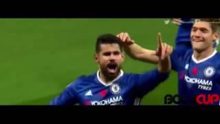 Chelsea 5 - 0 Everton All Goals - Premier League   06/11/16
