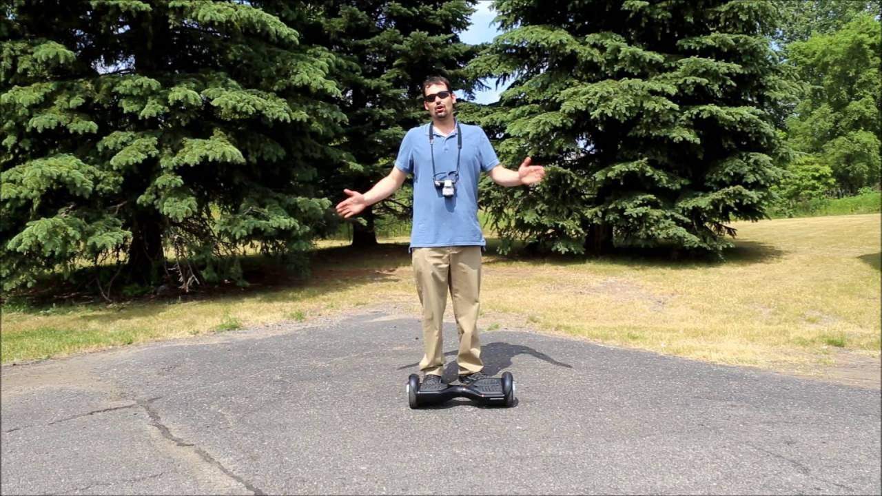 SwagTron T1 hoverboard torture test episode 2, Safe Stop technology test