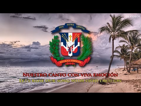 National Anthem of the Dominican Republic (ES/EN lyrics)
