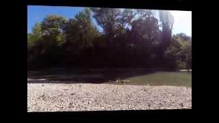 Camping De Chamarges in Die Frankrijk 2014 Garmin Virb Elite