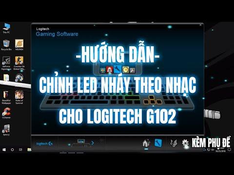 ► Hướng Dẫn Chỉnh Led Nháy Theo Nhạc Cho Logitech G102 ( Kèm Theo Phụ Đề Nhé ) ✔