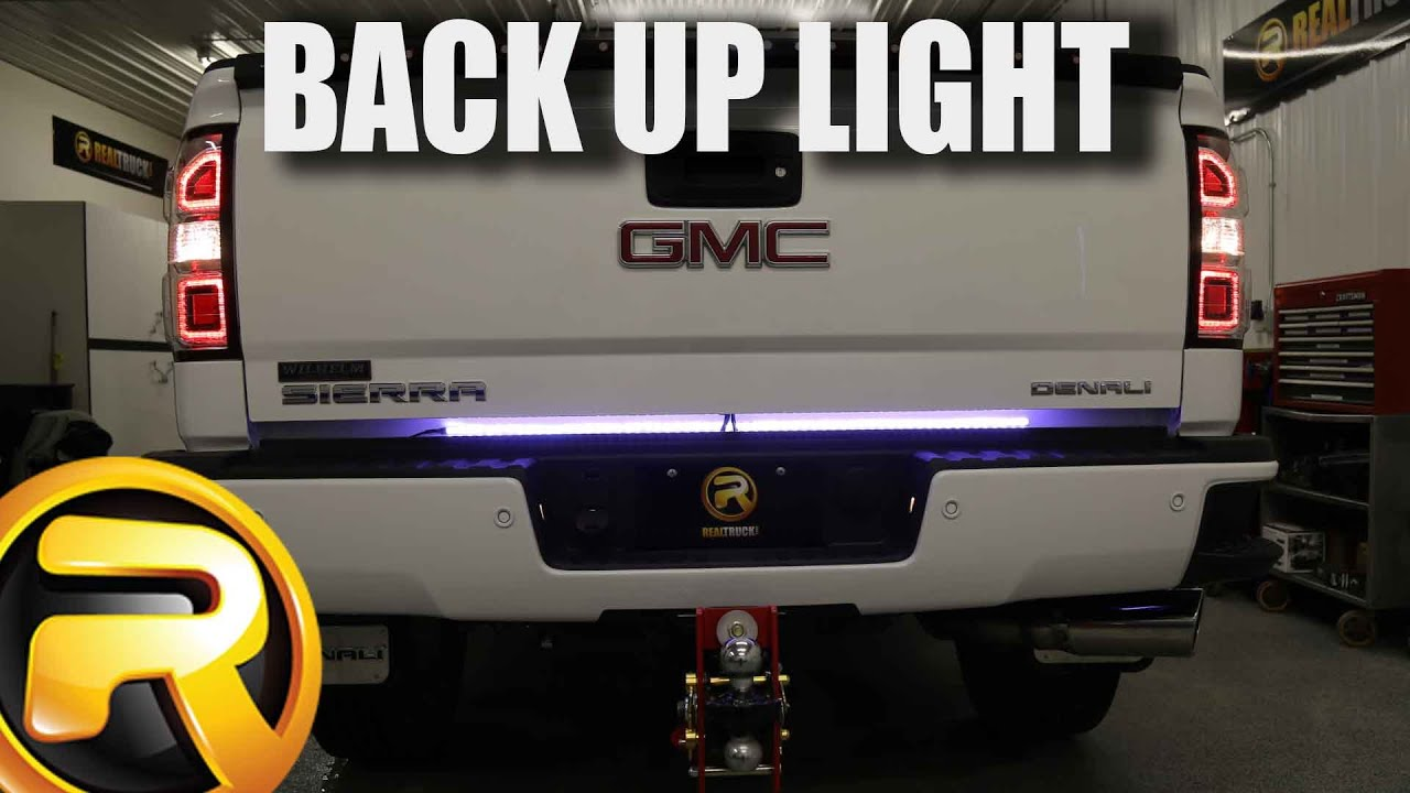 7 Blade Truck Wiring Diagram Pontiac Sunfire Stereo How To Install Access Back Up Led Tailgate Light Bar Youtube