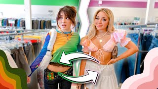 Opposite Twins Thrift for Eachother Challenge (+ try-on thrift haul)